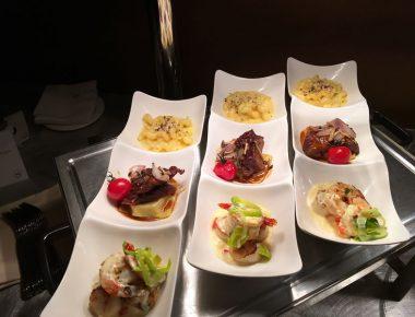 Annual Conference Appetizer Sampling Menu for Awards Dinner