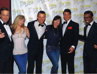 Annual Corporate Meeting in Las Vegas wtih The Rat Pack