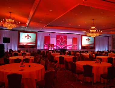 Annual Franchise Conference New Orleans Louisiana Ritz Carlton Hotel Stage Design