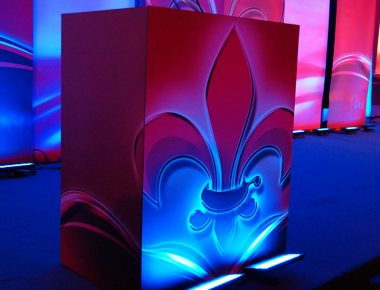Annual Franchise Conference New Orleans Louisiana Ritz Carlton Hotel Stage Design Podium