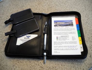Annual Minnesota Corporate Incentive Trip Documents Packet with Agenda Cabo San Lucas Mexico