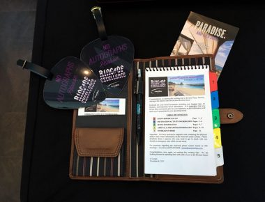Annual Minnesota Corporate Incentive Trip Documents Packet with Agenda and Luggage Tags Hard Rock Hotel Riviera Maya Mexico