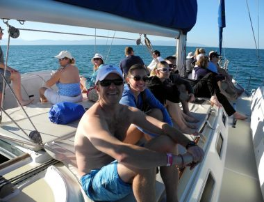 Corporate Incentive Trip Private Sailing Excursion Puerto Vallarta Mexico Grand Velas Resort