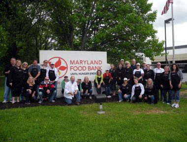 Emmi Roth Kase Annual Sales Meeting Baltimore Maryland Food Bank Volunteer Day