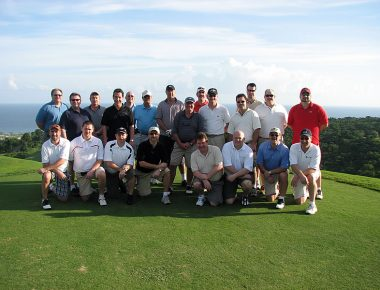 Executive Group Incentive Trip White Witch Golf Course Jamaica Aerospace Client