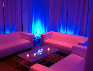 Meeting Evening Reception White Party Decor Orlando Florida