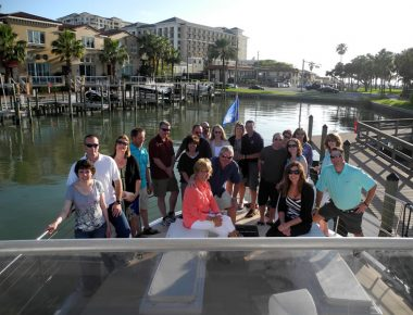 Minnesota Corporate Sales Incentive Trip Group Sunset Excursion Clearwater Beach Florida