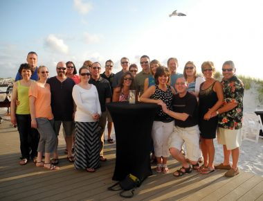 Minnesota Elevator Incentive Trip Sand Pearl Resort and Spa Clearwater Beach Florida Welcome Reception