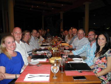 President's Club Incentive Trip Farewell Group Dinner Westin Playa Conchal Costa Rica