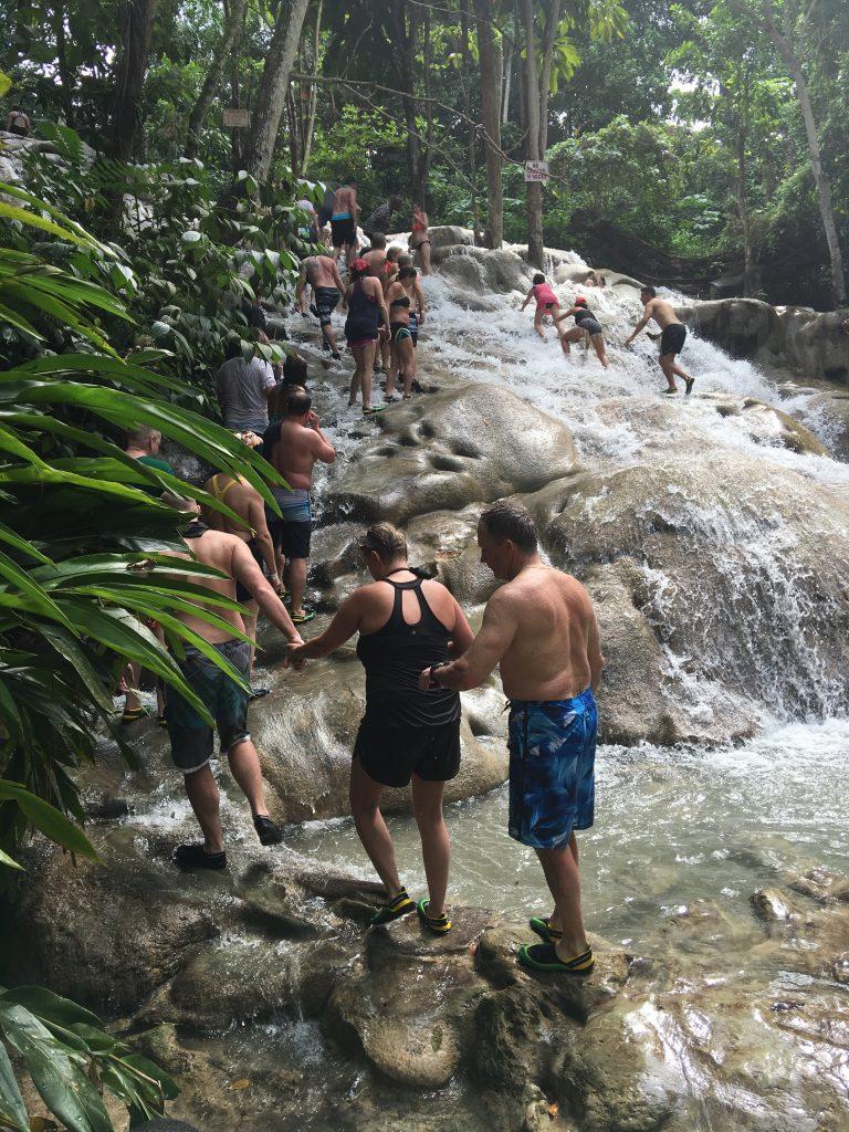 dunn river falls jamaica incentive trip